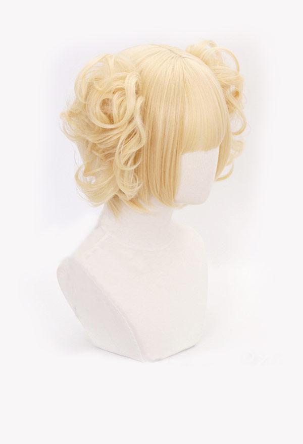 My Hero Academia Himiko Toga Blonde Cosplay Perücke