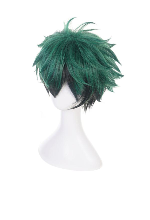 My Hero Academia Izuku Midoriya grün Cosplay Perücke