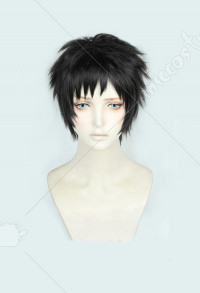 My Hero Academia Kai Chisaki Black Brown Short Cosplay Wig