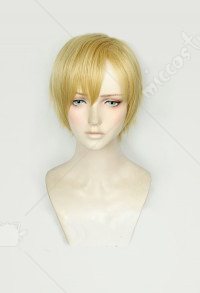My Hero Academia Neito Monoma Golden Blonde Cosplay Wig