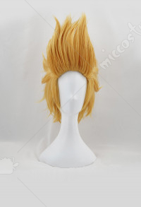 My Hero Academia Young Present Mic Hizashi Yamada Yellow Cosplay Wig
