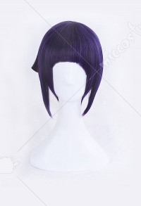 My Hero Academia Kyoka Jiro Purple Short Cosplay Wig