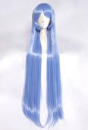 My Hero Academia Big 3 Nejire Hado Long Blue Cosplay Wig