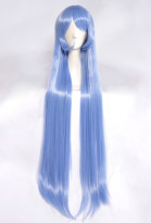 My Hero Academia Big 3 Nejire Hado Long Blue Cosplay Wig