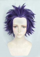My Hero Academia Hitoshi Shinso Short Purple Cosplay Wig