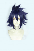 My Hero Academia Tamaki Amajiki Animated Version Violet Curly Cosplay Wig