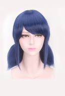 Miraculous Ladybug Marinette Dupain Cheng Blue Bunches Cosplay Wig