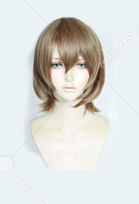 Persona 5 Goro Akechi Brown Short Cosplay Wig