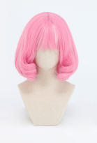 PM Sword and Shield Klara Gym Leader Pink Cosplay Wig