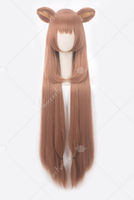 The Rising of the Shield Hero Raphtalia Long Cosplay Wig