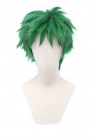 Superhero Monster Boy Beast Cosplay Green Short Wig