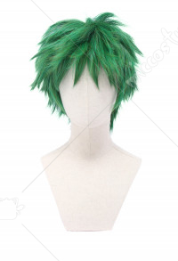 Cosplay Perruque de Beast Boy Courte Verte