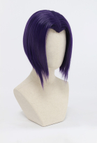 Super Heroine Halloween Inspired by Raven Purple Cosplay Wig