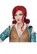 The Witcher 3 Wild Hunt Triss Merigold Cosplay Wig