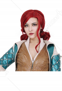 The Witcher 3 Wild Hunt Triss Merigold Cosplay Perruque