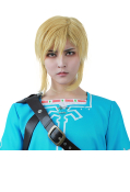 The Legend of Zelda: Breath of the Wild Link Cosplay Wig