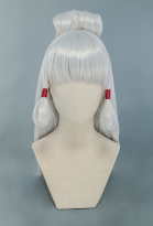Zelda Hyrule Warriors Age of Calamity Young Impa Cosplay Wig Silver Long Wig