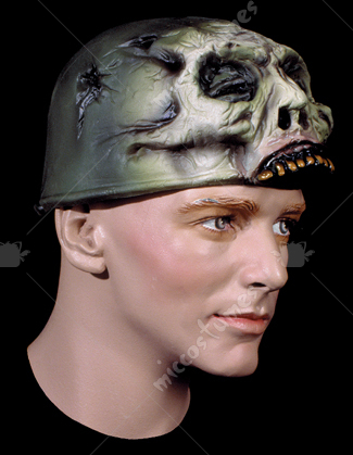 War Helmet Rubber