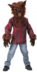 Werewolf Child Large Brown