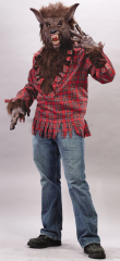 Brown Werewolf Adult Costume