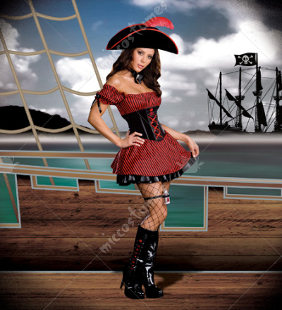 What is Your Poison Pirate Adult Costume