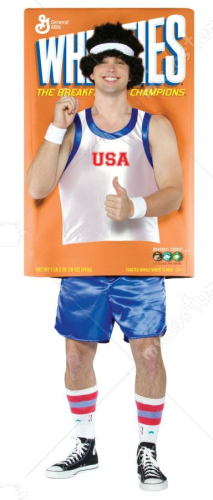 Wheaties Box Adult Costume