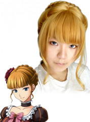 When They Cry Beatrice Cosplay Wig