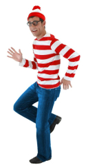 Wheres Waldo Kit Adult Costume
