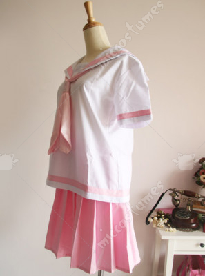 White And Pink School Uniform For Sale