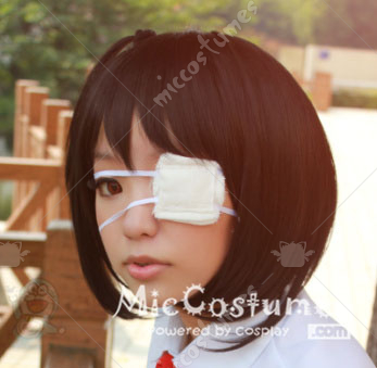 white eyepatch for cosplay for sale