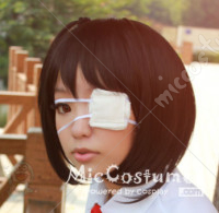 White Eyepatch For Cosplay