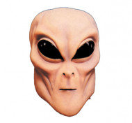 White Flesh Alien Masks Halloween Mask