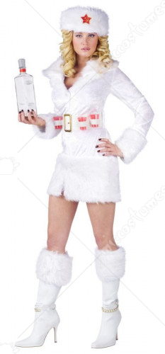White Russian Costume