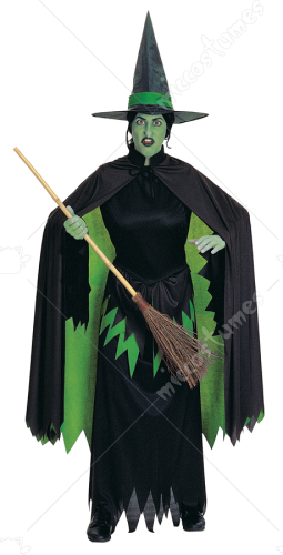 Wicked Witch Adult Cloak Costume