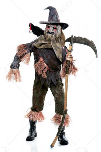 Wicked of Oz Scarecrow Mens Adult Costume