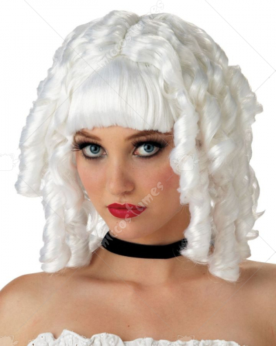Ghost White Doll Wig