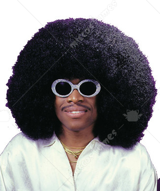 Wig Super Fro Black