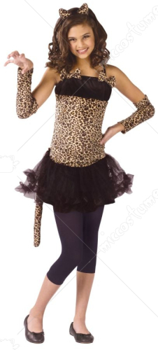 Wild Cat Child Costume
