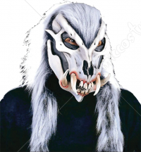 Creepy Werewolf Skeletal Mask