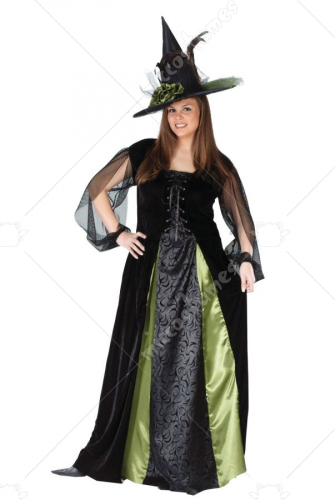 Witch Goth Maiden Plus Size Costume