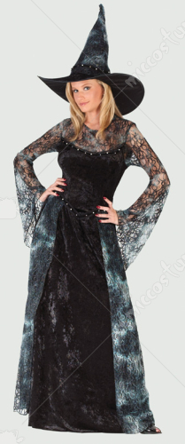 Witch Midnight Sorceress Adult Costume