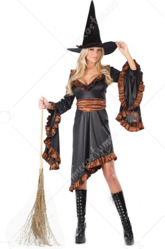 Witch Ruffle Costume