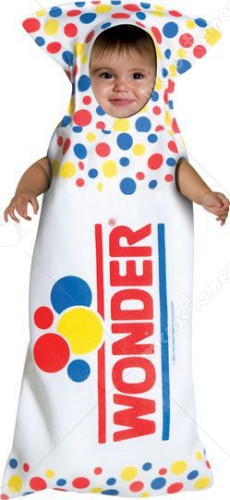 Wonder Bread Bunting Infant Costume