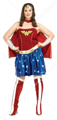 Wonder Woman Plus Costume