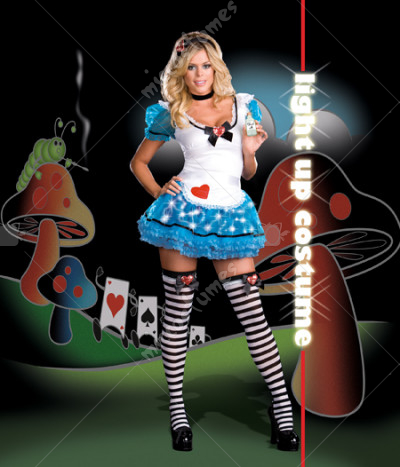 Wonderland Delight Adult Costume