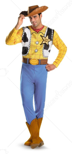 Woody Adult Classic Plus Size Adult Costume