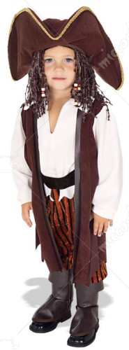 Yarn Babies Pirate Toddler Costume