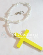 Yellow Cross For Blue Exorcist Okumura Yukio Cosplay