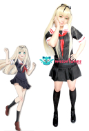 Kantai Collection Yudachi Cosplay Costume