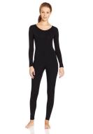 Women Pure Color Lycra Spandex Zentai Suit Round Neck Bodysuit Cosplay Costume